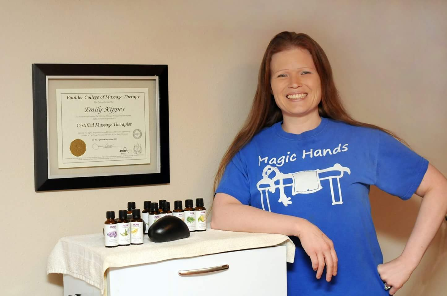 Emily Kippes, LMT CMT; Magic Hands Therapeutic Massage